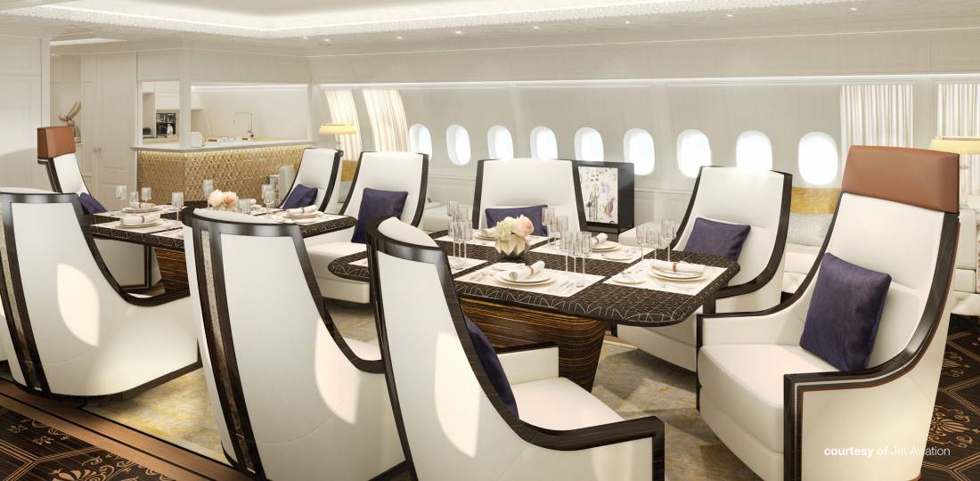 Jet Aviation's 'Shaheen' interior concept