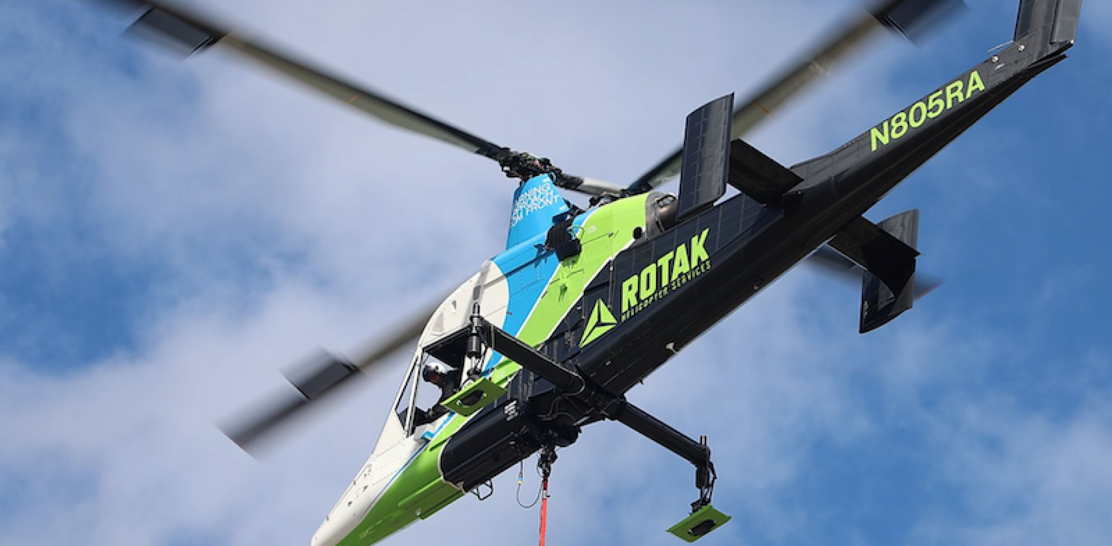 Rotak K-Max helicopter