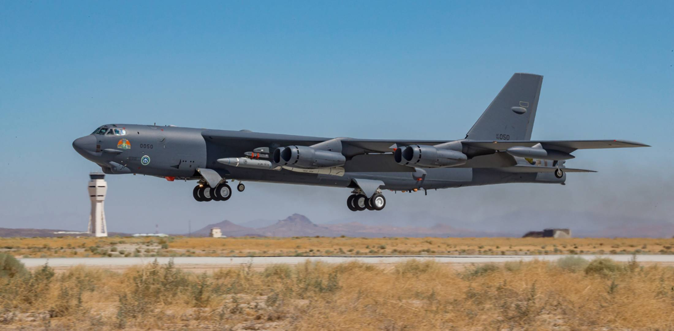 B-52H AGM-183 ARRW hypersonic weapon
