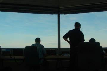 Swiss air traffic controllers