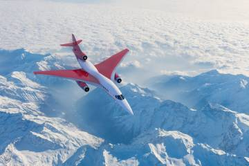 Aerion Supersonic AS2 (Photo: Aerion Supersonic)
