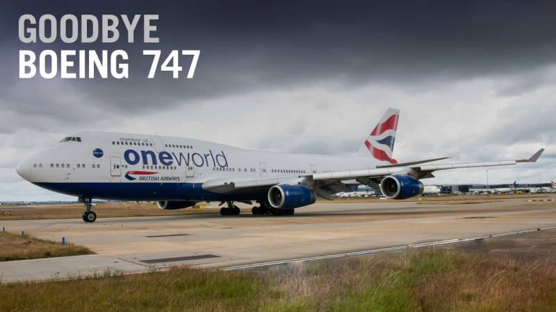 British Airways Bids Adieu to First of 31 Retired Boeing 747s