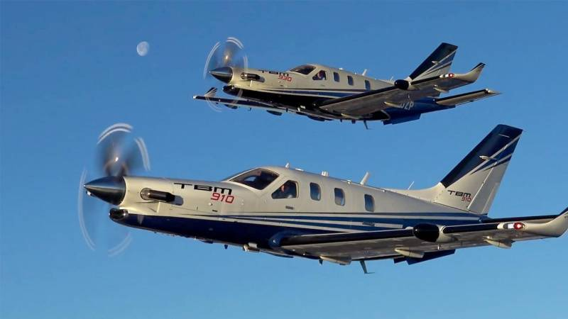 Daher's TBM 910 and 930 Single-Engine Turboprops Fly at Jet Speeds