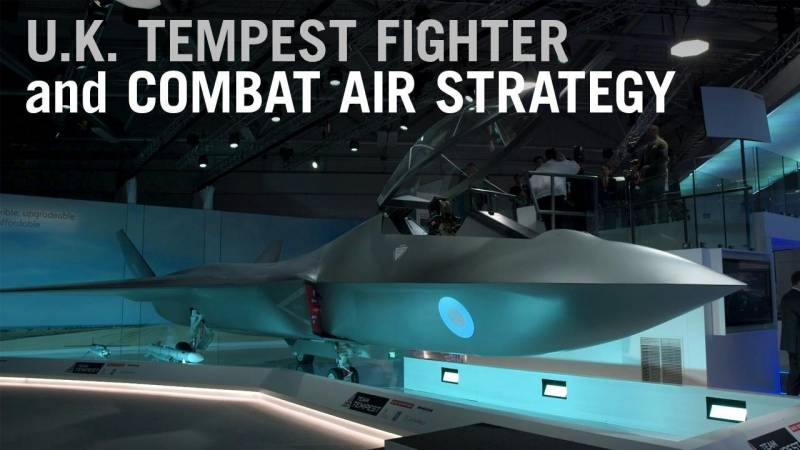 U.K. Unveils Tempest Fighter Concept as Trailblazer for New Combat Air Strategy