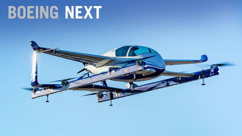 Boeing Next Tests Future eVTOL Air Mobility Concepts