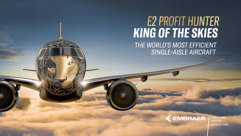Embraer's E2 Profit Hunter is the King of the Skies