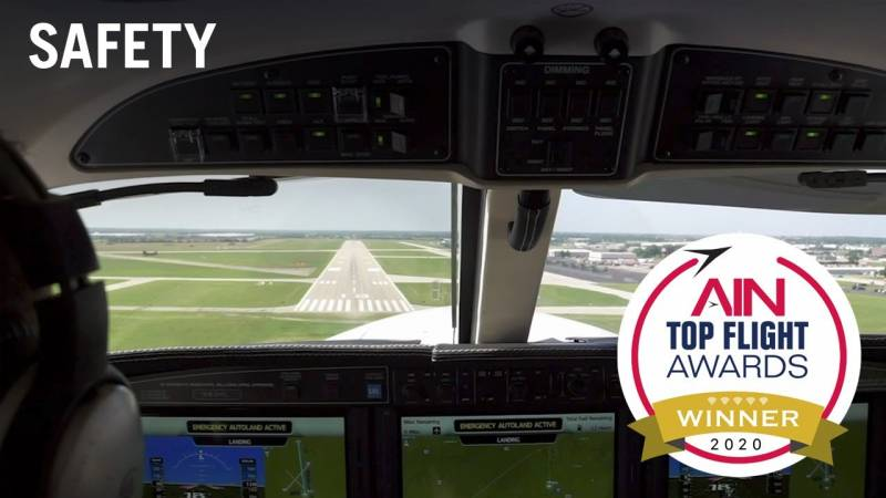 Announcing the Top Flight Awards Safety Category Winner