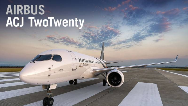 Airbus Launches the New ACJ TwoTwenty Business Jet