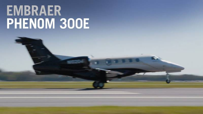 Flying the New Embraer Phenom 300E