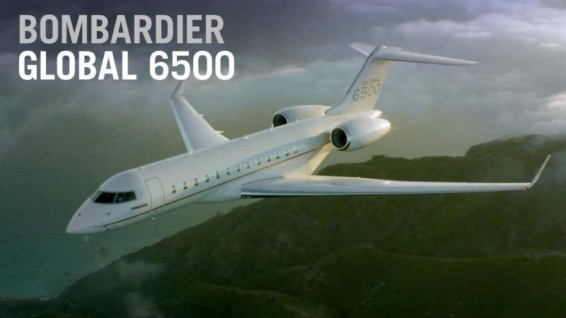 Step Inside the Bombardier Global 6500 Aircraft