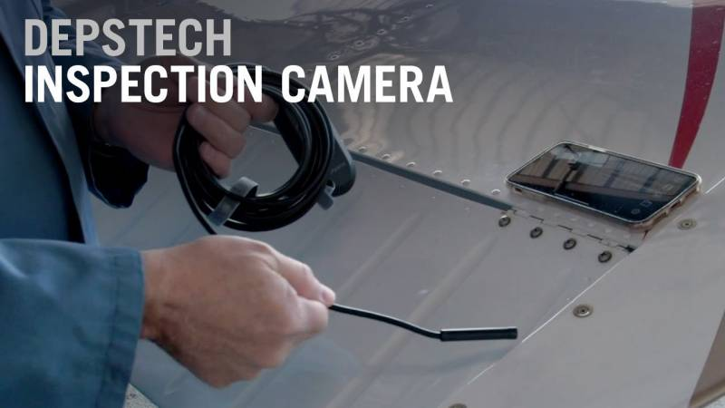Review of the Depstech WiFi HD Wireless Borescope Camera - AIN Gadget Central