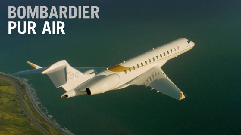Introducing Bombardier Pũr Air
